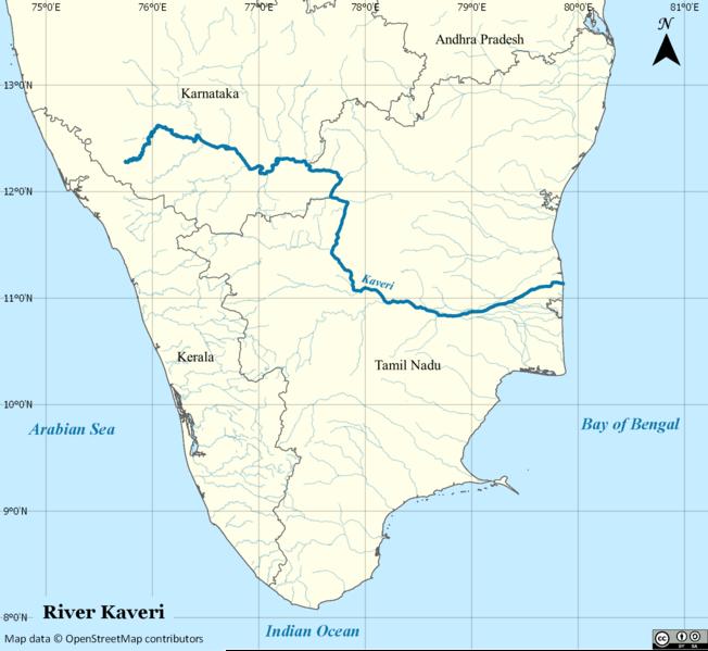 மூலம்: http://en.wikipedia.org/wiki/File:River_Cauvery_EN.png